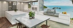 Wymarzony dom z tarasem. Jaki materiał wybrać na elewację i blaty do kuchni zewnętrznych?