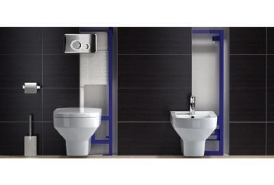 Stelaże podtynkowe WC Sanit do zabudowy lekkiej i ciężkiej