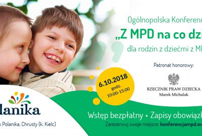 6 października jest Światowy Dzień MPD - zapisz się na bezpłatną konferencję