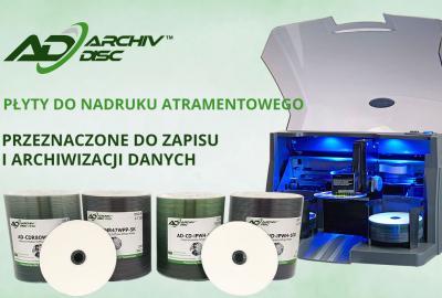 Najtrwalsze nośniki danych CD/DVD ArchivDiscTM i ArchivDisc ProTM