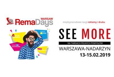 Nowe Media na targach RemaDays Warsaw 13-15.02.2019r.