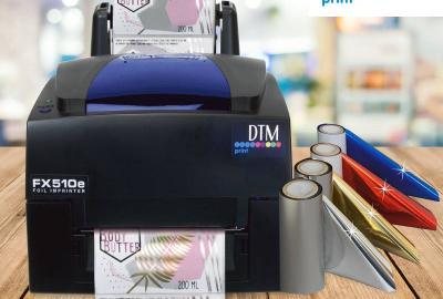 Nowa drukarka foliowa FX510e firmy DTM Print.