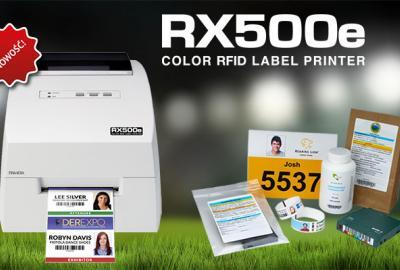 Kolorowa drukarka RFID do etykiet i kuponów