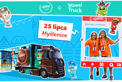 Interaktywny Wawel Truck odwiedzi Myślenice!  Zapraszamy!